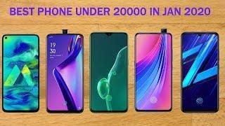 Best Smartphones Under 20000 in January 2020 | Top 5 Phones under 20000 | Best Phone Under 20000