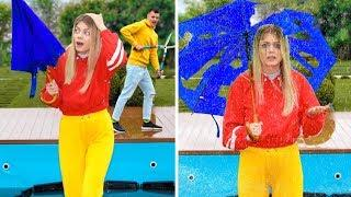 FUNNY COUPLE PRANKS! Simple DIY Pranks in Relationship & Friends