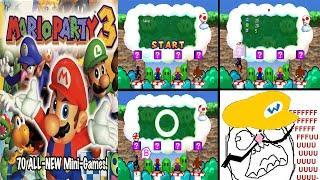 Top 7 Peores Minijuegos Mario Party 3