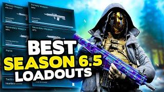 *NEW* Warzone Season 6.5 Top 10 BEST LOADOUT & Class Setups (Modern Warfare Warzone Tips)