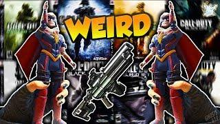 TOP 10 WEIRDEST Weapons in Call of Duty