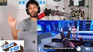 Top 10 Friday Night SmackDown moments: WWE Top 10, May 22, 2020   REACTION