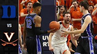 Duke vs. Virginia Men's Basketball Highlights (2019-20)