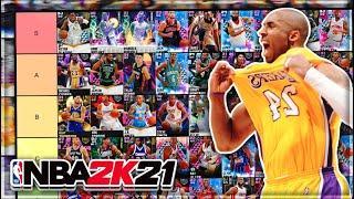 RANKING THE BEST SG IN NBA 2K21 MyTEAM!! (Tier List)