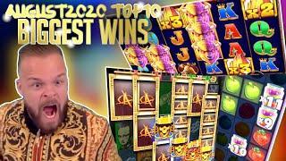 Top 10 Biggest Slot Wins Part 1 I August 2020 #32