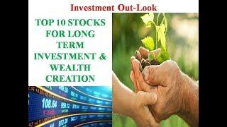 TOP 10 STOCKS FOR LONG TERM INVESTMENTS