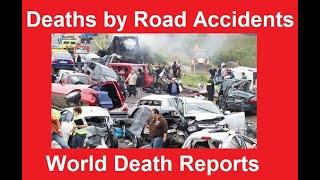 Road Accidents Death Rate - Death by Road Accidents by year, Top 10 Countries Road Accidents Death