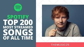 Spotify Top 200 Most Streamed Songs Of All Time [February 2020]