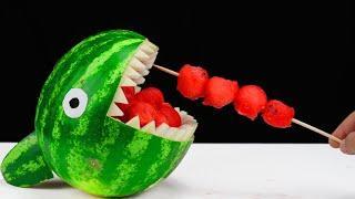 15 Watermelon LifeHacks and Party Tricks