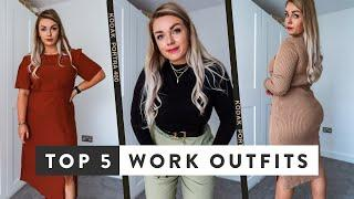 What To Wear To The Office | Top 5 Autumn Work Outfits & ASOS Haul