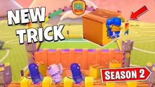 *NEW* SEASON 2 Wall GUYS TRICK - FALL GUYS WTF & Funny Moments #92