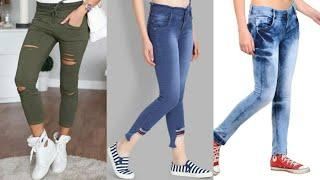 latest stylish jeans design for girls 2020| jeans top design | trendy jeans top design|trendy jeans