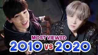 MOST VIEWED KPOP BOY GROUPS MUSIC VIDEOS EACH YEAR