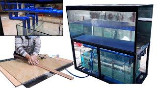 Aquarium model 19 - Aquarium 2 water levels