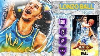 DIAMOND LONZO BALL GAMEPLAY! BEST BUDGET POINT GUARD IN NBA 2k20 MyTEAM
