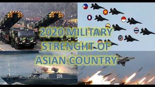 POWERFUL ASIAN COUNTRY (TOP 10 MILITARY STRENGTH 2020)