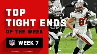 Top Tight End Plays from Week 7 | NFL 2020 Highlights