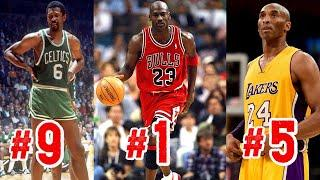 RANKING TOP 10 NBA PLAYERS OF ALL-TIME!