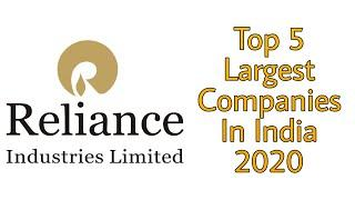 Top 5 Largest Companies In India 2020