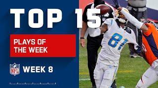 Top 15 Plays of Week 8 | NFL 2020 Highlights