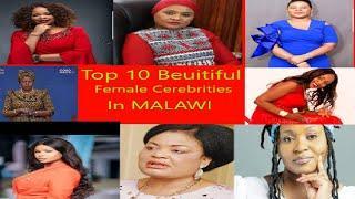T0p 10 Most  Beutifull  Female Celebrities in Malawi, 2021