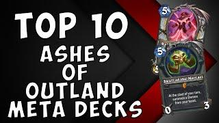 Top 10 Ashes of Outland Meta Decks | Wild Hearthstone