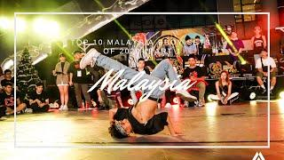 Top 10 Malaysia Bboy Sets of 2020 - Part 1// Freshit Tv