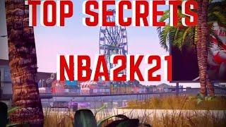 Top 10 Scrects- You missed in NBA2k21 Park Trailer (New Place Other than the Park Wow!)
