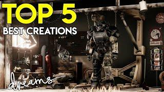 TOP 5 BEST CREATIONS OF FEBRUARY   Dreams PS4