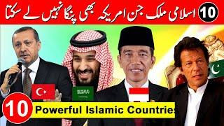 Top 10 Powerful Muslim country in the World - Powerful Muslim Countries 2020 - Taha Amazing Facts