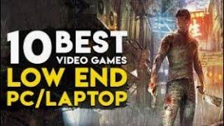 TOP 10 LOW END PC games || INTEGRATED GRAPHICS Games ||pc games without graphic card