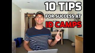 10 TIPS TO STAND OUT AT ID CAMPS | NCAA & USPORTS ID CAMPS | HOW TO GET RECRUITED