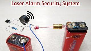 Per Door Security Alarm with laser security | Electronic Project |
