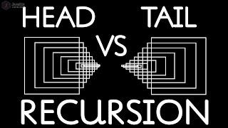 Head Recursion   Tail Recursion   Head VS Tail Recursion   EP4