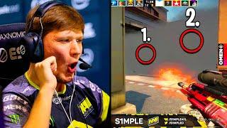 S1MPLE WALLHACK OR PERFECT GAME SENSE?! - Twitch Recap | CSGO
