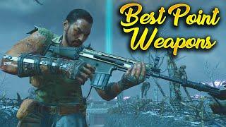 Top 10 Best Point Weapons in Call of Duty Zombies History (WAW - BO4)