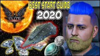 How to Have the Best Start in Elite Dangerous 2020 Beginners Money Guide Gameplay - Hawkes Gaming