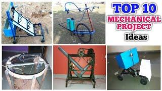 Top 10 Best Mechanical Engineering Projects Ideas For 2020