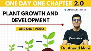 Plant Growth and Development | One Day One Chapter | NEET Biology | NEET 2020
