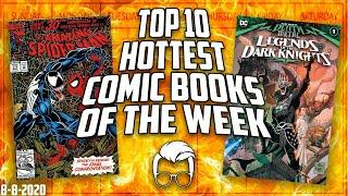 The Top 10 Hottest Trending Comics in the Market This Week // Russ Gets Mad // Hottest Comics List