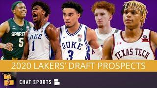 Lakers Rumors: 5 Players LA Should Target In The 2020 NBA Draft Ft. Nico Mannion & Tre Jones