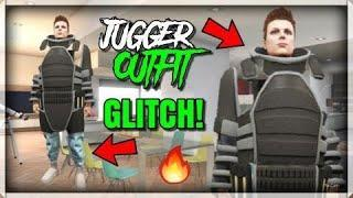 GTA 5 - JUGGERNAUT OUTFIT GLITCH! SOLO + EASY (INVISIBLE BODY + JUGGER SUIT MODDED OUTFIT 1.50)