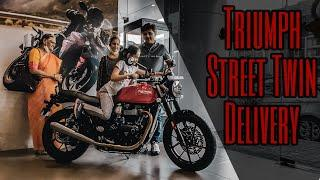 Triumph Street Twin Delivery | Best selling Triumph motorcycle