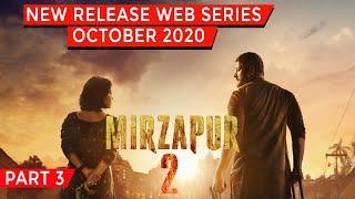 Top 10 New Release Hindi Web Series On October 2020 | Netflix,Amazon Prime,Hbo,Hulu,Mxplayer