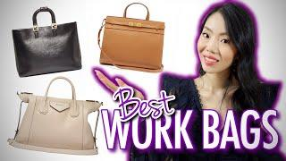 9 BEST LUXURY WORK BAGS | MY TOP PICKS FOR 2020 DESIGNER HANDBAGS FOR WORK | FashionablyAMY