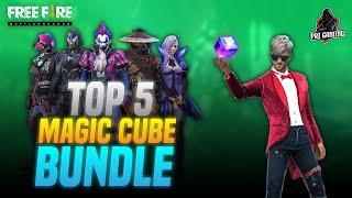 TOP 5 Most Rare Magic Cube Bundles in Freefire | Best Diwali Magic Cube Bundle in Freefire 2020