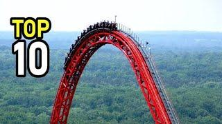 Top 10 Roller Coaster in World (My Roller Coaster Experience)(watch in VR)
