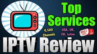 Top Services IPTV Service Review - 4,500 Channels - Test Line Available!
