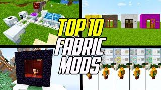 Top 10 Minecraft Fabric Mods (Fabric Mod Loader)