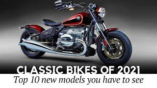 Top 10 Motorcycles that Stick to Classic Bike Design Philosophy in 2021